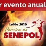 Faça download do catálogo do Leilão Parceiros do Senepol 2010