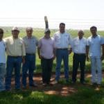 Dirigentes das fazendas parceiras e da ABCB Senepol participaram das avaliações finais do programa Safiras do Senepol em Pirajuí (SP)