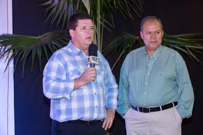 Daniel de Paula - Jornalista do SBA em entrevista com Sr Paulo Khedi, durante o Leilão Elite Grama Senepol & Convidados. 8h30 de transmissão entre fazenda e resort.
