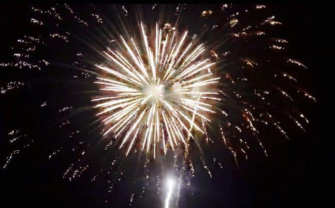 O fim de semana festivo da família Senepol termina com uma queima de fogos comovente e inesquecível!!!!