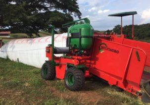 Fazenda da Grama inova de novo e é pioneira na tecnologia de silobolsa