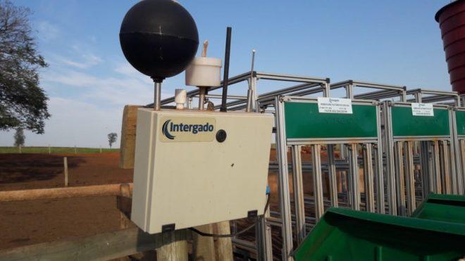 Central meteorológica instalada na estrutura do Safiras para medição do estresse térmico foi uma das novidades explicadas na reunião final.